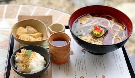 抹茶控必見京都清水寺秘境茶屋普門庵超值烏龍麵套餐