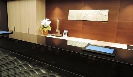Hotel Intergate 京都四条新町的前台接待處