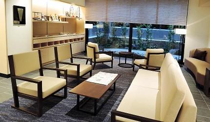 Hotel Intergate 京都四条新町的大廳等候區