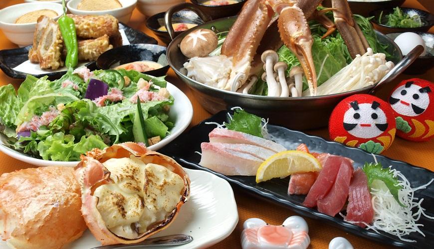 難波站徒步1分鐘就能品嘗鮮美多汁的螃蟹吃到飽套餐!大阪居酒屋「蟹DARUMA」