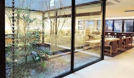 Hotel Intergate 京都四条新町休息區