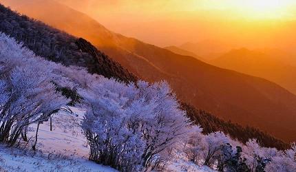 三峰山霧冰
