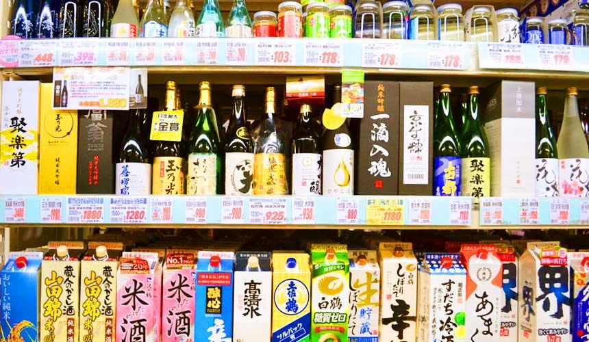日本關西自由行必逛!京都人御用超好買的「高木批發超市」日本酒