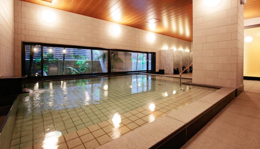 Hotel Intergate 京都四条新町的大浴場