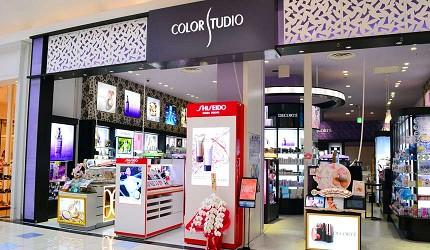 大阪關西機場附近大型購物中心「AEON MALL永旺夢樂城臨空泉南」的化妝品香水店「COLOR STUDIO」