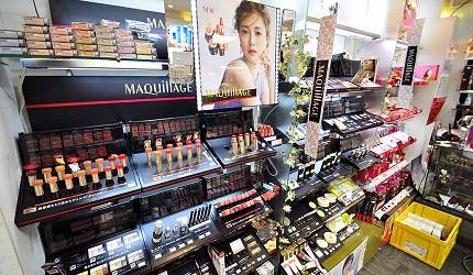 資生堂認證化妝品專門店:神戶元町「もとぶら」的「MAQuillAGE心機彩妝」