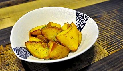 道頓堀居酒屋美食酒吧「大阪牙買加」的薯塊
