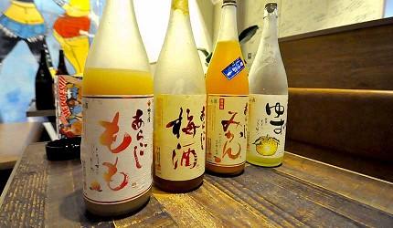道頓堀居酒屋美食酒吧「大阪牙買加」的人氣果實酒