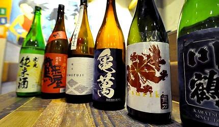 道頓堀居酒屋美食酒吧「大阪牙買加」的經典日本酒