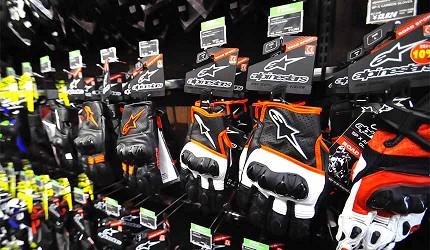 買安全帽就來這!西日本機車配件「RICOLAND CuBe 京都店」手套配件選項多元
