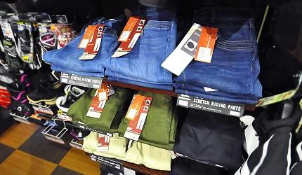 買安全帽就來這!西日本機車配件「RICOLAND CuBe 京都店」機能性的女性車褲