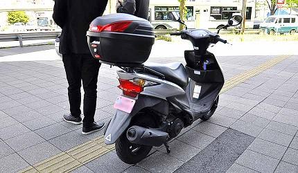 買安全帽就來這!西日本機車配件「RICOLAND CuBe 京都店」機車可租借車款多元