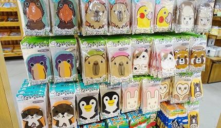日本關西神戶必去景點「神戶動物王國」的人氣動物圖案襪子