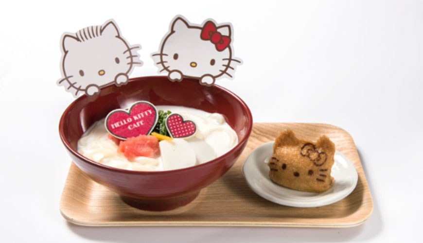 HELLO KITTY CAFE期間限定店舖日本大阪心齋橋