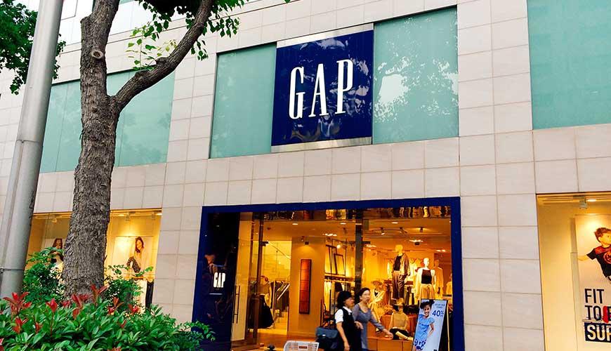日本全國自由行大阪心齋橋推薦必逛必買便宜購物逛街地圖攻略GAP