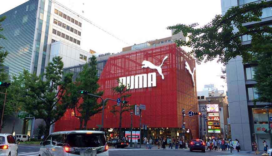 日本全國自由行大阪心齋橋推薦必逛必買便宜購物逛街地圖攻略PUMA