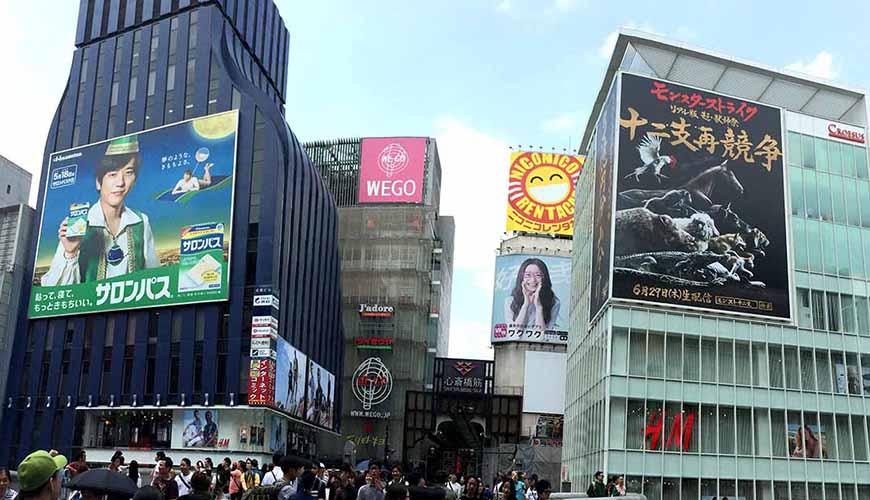 日本全國自由行大阪心齋橋推薦必逛必買購物逛街地圖攻略UNIQLOBershkaABCMART電器便宜
