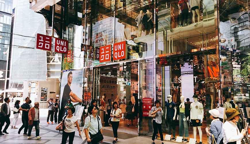 日本全國自由行大阪心齋橋推薦必逛必買便宜購物逛街地圖攻略UNIQLO