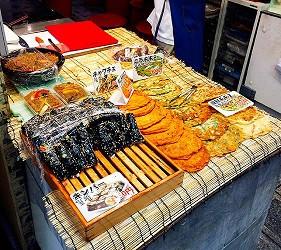 海鮮煎餅和壽司