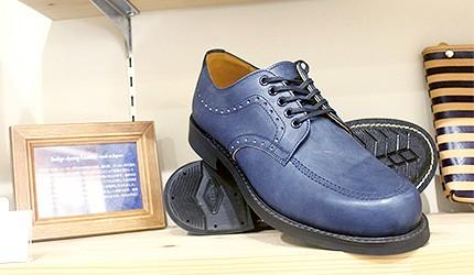 牛仔单宁材质皮鞋绅士鞋