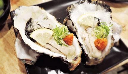 大阪裏難波「海千山千番長」的漁港直送超大顆鮮美牡蠣