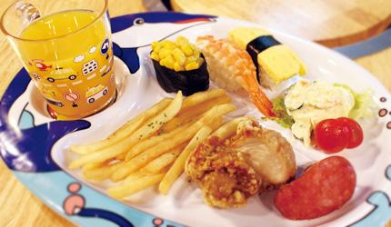 大阪裏難波「海千山千番長」的免費招待兒童餐