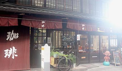 仓敷商店街面包咖啡店 吃茶 戎町