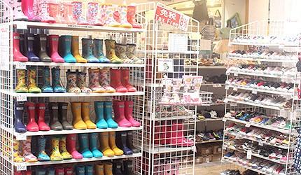 日本商店街儿童浴衣雨伞雨衣