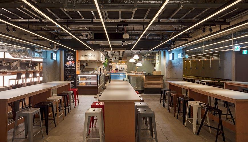 京都车站前购物推荐:京都塔商场「KYOTO TOWER SANDO」的B1F FOOD HALL美食大街