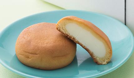 KYOTO TOWER SANDO1樓旅籠屋'利兵衛'的人氣商品乳酪饅頭