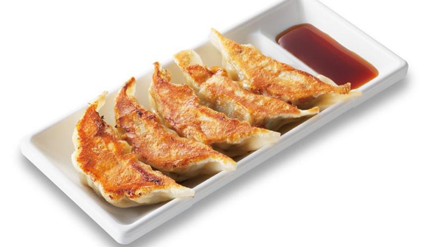 大阪必吃拉麵店「神座」的煎餃單品(どうとんぼり餃子)