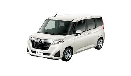 日本山陽山陰岡山自駕租車推薦「TOYOTA Rent a Car」的車款「ROOMY」