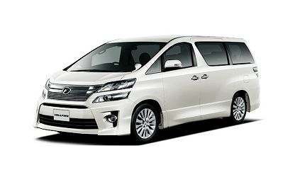 日本山陽山陰岡山自駕租車推薦「TOYOTA Rent a Car」的車款「VELLFIRE」