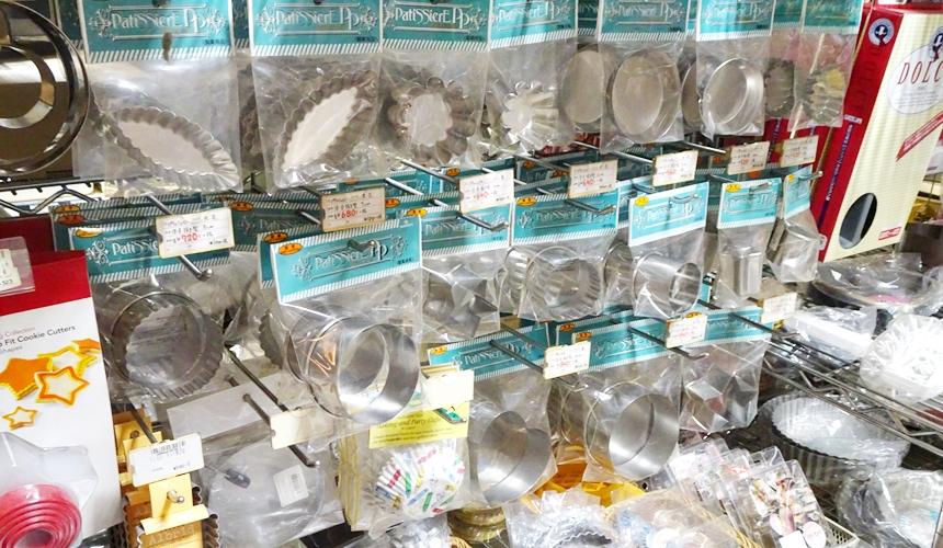 日本京都推荐厨房用品店「KOTANI」(コタニ金物)贩售的烘焙模具