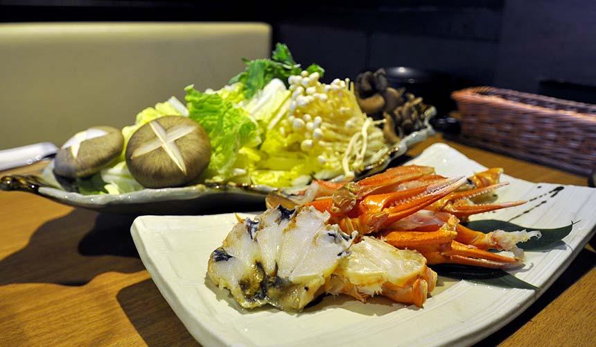 大阪道頓堀「蟹櫻」的花凜特製螃蟹鍋(花凛特製カニ鍋)