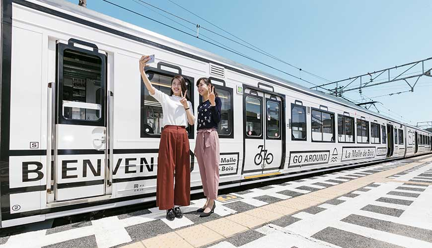 宇野・尾道・琴平 La Malle de Bois觀光列車