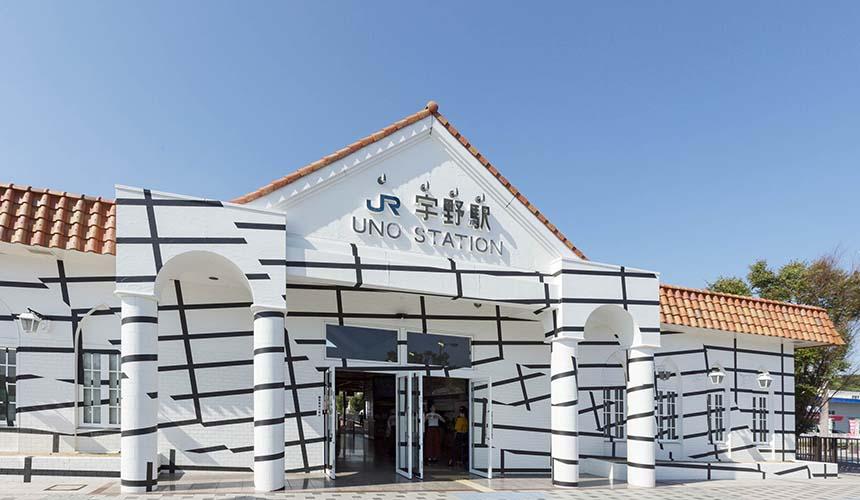 关西旅游用「JR西日本铁路周游券」搭乘观光列车「La Malle de Bois」前往宇野
