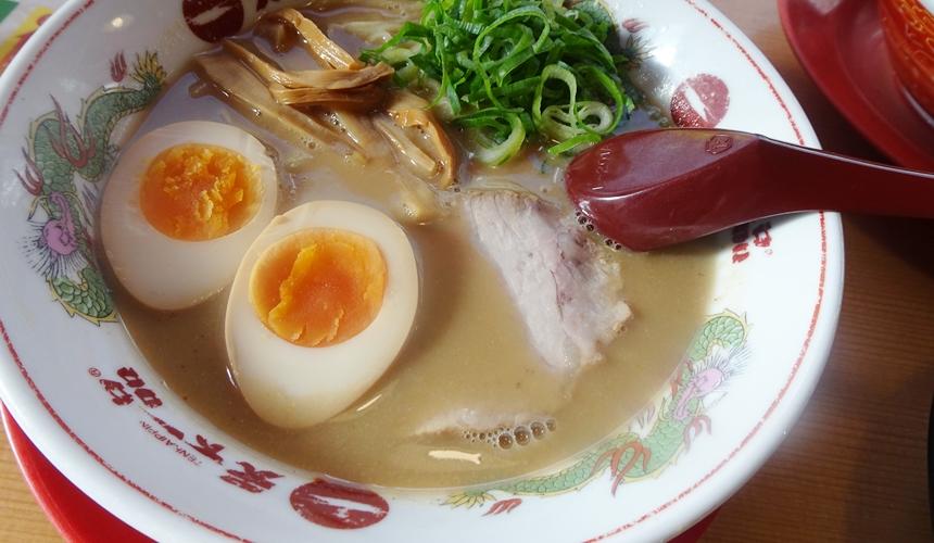 大阪難波天下一品半熟蛋拉麵(味玉ラーメン)