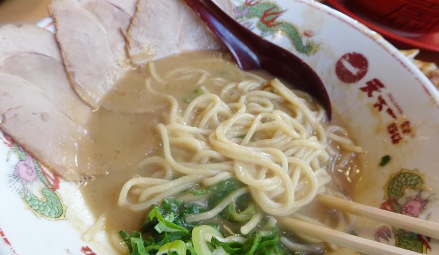 大阪難波天下一品的拉麵湯頭