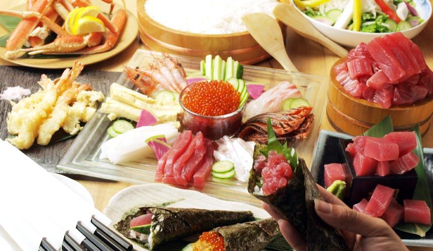 魚壱商店3,500日圓套餐