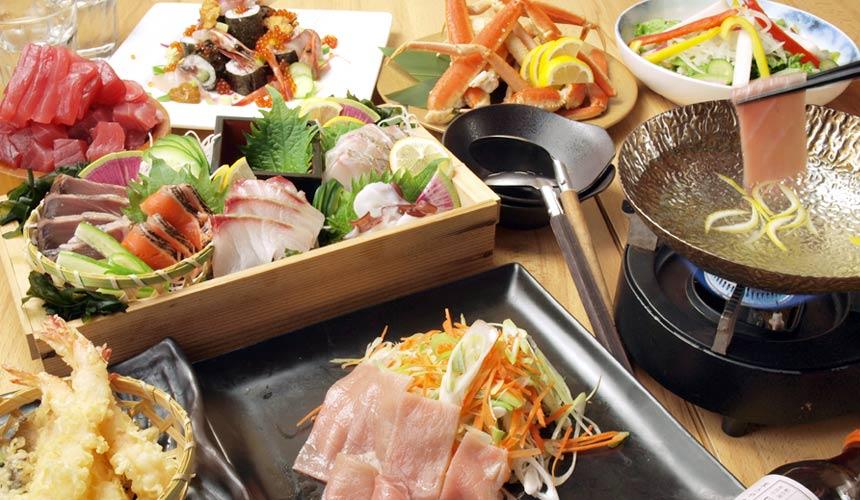 魚壱商店4,500日圓套餐