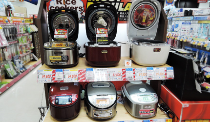 大阪道頓堀愛電王販賣的日本電飯鍋
