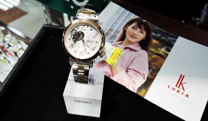 大阪道頓堀愛電王販售的Seiko精工錶