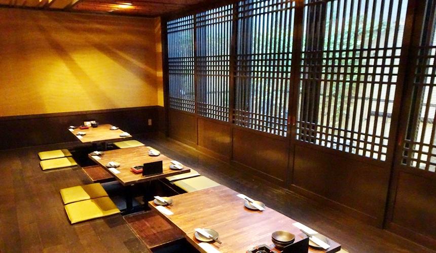 大阪心齋橋超值居酒屋「きんいち花鳥風月」店內裝飾