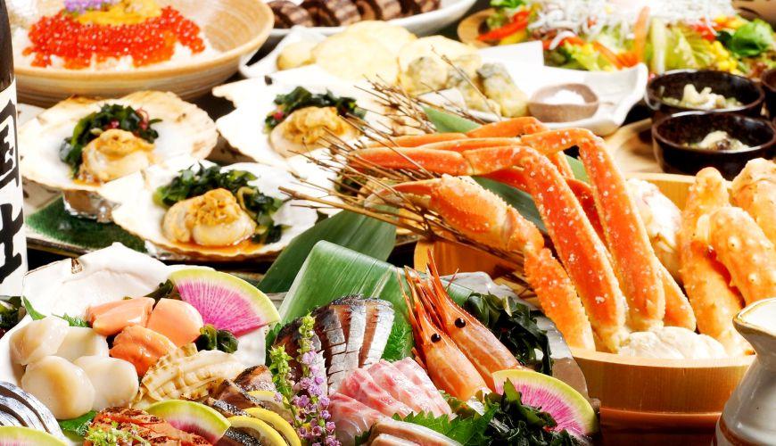 特選7種生魚片只要1,599円!離車站超近的和風居酒屋「知床漁場 近鐵奈良站前店」