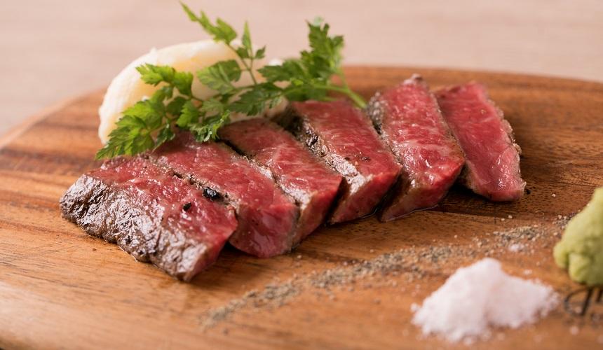 神戶牛牛排料理示意圖