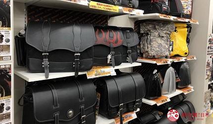 大阪機車部品店「Bike World」車用背包