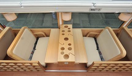 Willer Express「京都餐廳巴士」裝潢