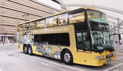 Willer Express「京都餐廳巴士」乘車方向