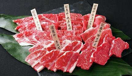 京都河原町燒肉店「あぶりや」的國產牛的赤身燒肉(国産牛赤身焼肉)